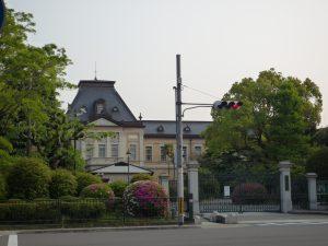 京都府庁正面